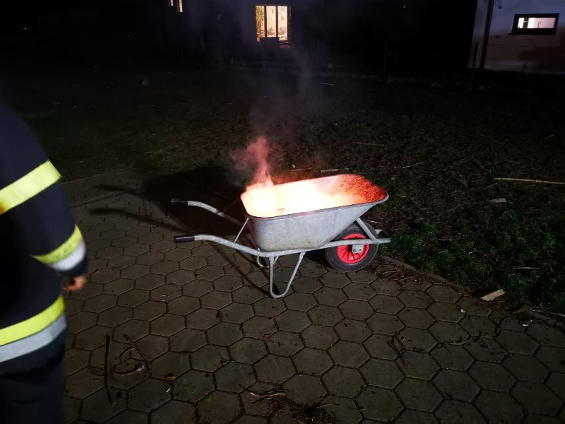 B01 - Brandverdacht